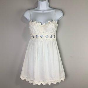 Ingwa Melero White Vella Mini Dress